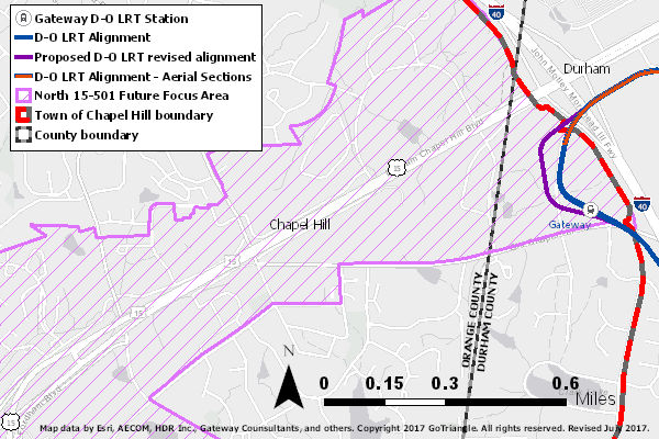 chapel hill tod map